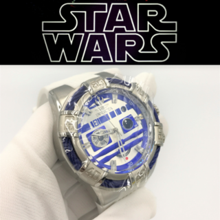 インビクタ(INVICTA)の定価14万【海外限定】腕時計 R2-D2 スターウォーズ(金属ベルト)