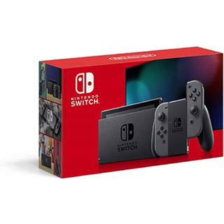 Nintendo Switch - Nintendo Switch ニンテンドー スイッチ グレー 新品 本体