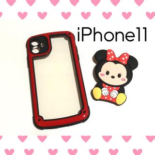 ディズニー(Disney)のお揃いでも可愛い❤ iPhone11 ミッキー ミニー iPhoneケース (iPhoneケース)