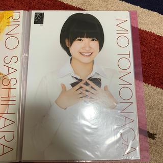 エイチケーティーフォーティーエイト(HKT48)の元HKT48 朝長美桜 生写真ポスター(アイドルグッズ)