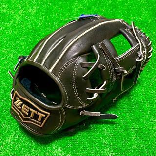ゼット(ZETT)の新品 高校野球対応 ZETT 日本製 ネオステイタス 硬式用 内野手用 グローブ(グローブ)
