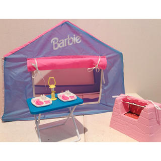 Barbie - Barbie キャンプセット