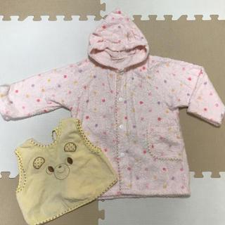 赤ちゃんの城◆バスローブ◆エプロン◆バスタオル◆おくるみ◆女の子(バスローブ)