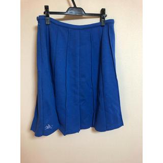 アズノゥアズオオラカ(AS KNOW AS olaca)のスカート ブルー 大きいサイズ レディース 15号 LL、3L(ひざ丈スカート)