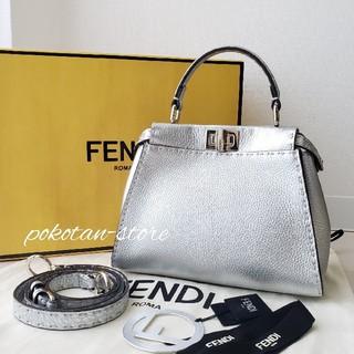 FENDI - 美品【フェンディ】セレリア ミニ ピーカブー 2way ハンドバッグ