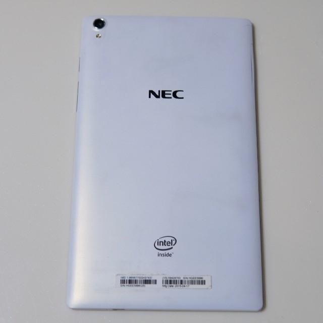 NEC(エヌイーシー)のNEC LaVie Tab S 708T1W SIMフリー ジャンク スマホ/家電/カメラのPC/タブレット(タブレット)の商品写真