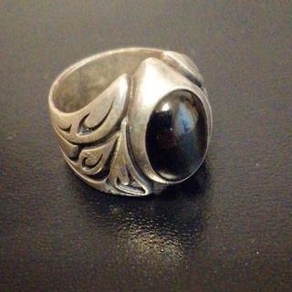 エムズコレクション(M's collection)の値下げM'sコレクション エムズコレクション 廃盤シルバーリング 指輪 ストーン(リング(指輪))