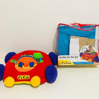 ボーネルンド(BorneLund)のk's kids 車 おもちゃ 乗り物 ジャンボゴーゴーゴー(電車のおもちゃ/車)