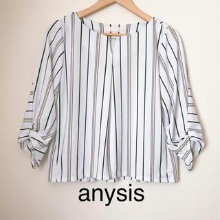 anySiS - 【anysis】ブラウス ストライプ