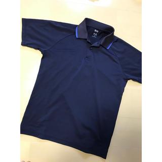 UNIQLO - UNIQLO ポロシャツ サイズM ネイビー、白のセット