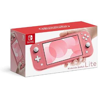 Nintendo Switch - ニンテンドー Switch  lite コーラル 新品未開封