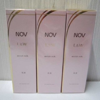 ノブ(NOV)のNOV L&W エンリッチミルク 3(乳液/ミルク)
