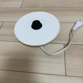 電気ポットの下の部分(電気ポット)
