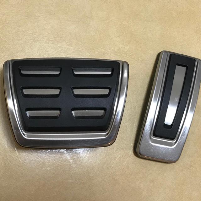 AUDI(アウディ)のアウディ A3(8V)ペダルセット 自動車/バイクの自動車(車内アクセサリ)の商品写真