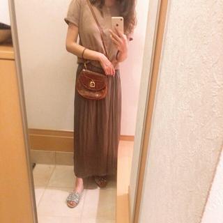 FREAK'S STORE - 美品 ライトオン バックナンバー ダークブラウン スカート