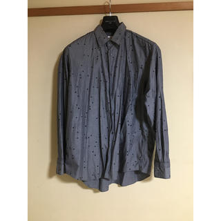 コムデギャルソン(COMME des GARCONS)のギャルソンシャツ スクエアドットシャツ グレー(シャツ)