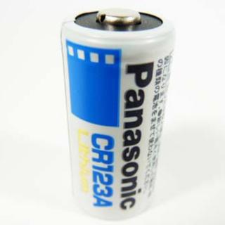 パナソニック(Panasonic)のPanasonic電池 CR-123A 3個セット(その他)