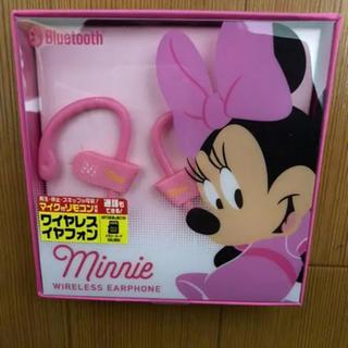 ディズニー(Disney)のミニーワイヤレスイヤフォン(ヘッドフォン/イヤフォン)