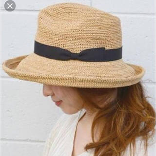 SHIPS - Shipsdays カギアミハット 麦わら帽子 石田製帽