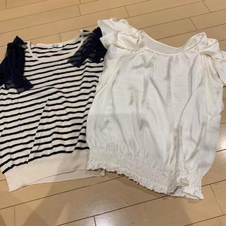 クチュールブローチ(Couture Brooch)のトップス二枚セット(シャツ/ブラウス(半袖/袖なし))