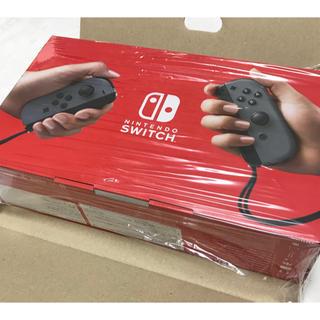 任天堂 - 【任天堂】Nintendo Switch 本体 グレー 新品未使用