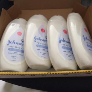 ジョンソン(Johnson's)のベビーローション4本(ベビーローション)