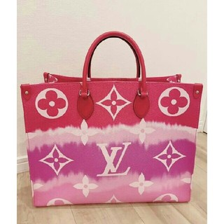LOUIS VUITTON - 限定品 LV エスカル オンザゴー ルイヴィトン ピンク レッド