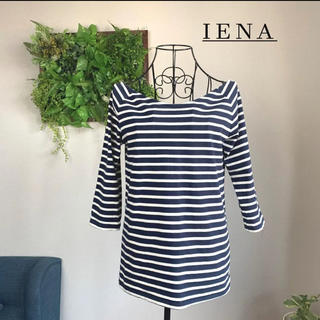 IENA - 【美品】IENA イエナ ボーダーカットソー