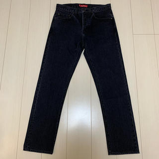 シュプリーム(Supreme)のSupreme Stone Washed Black Slim Jean(デニム/ジーンズ)