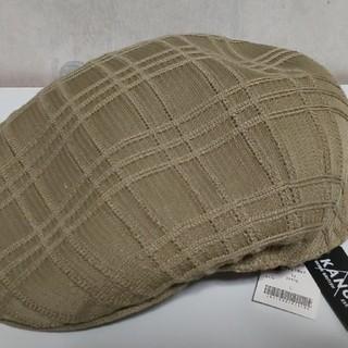 カンゴール(KANGOL)の新品! KANGOL(カンゴール)ハンチング帽 Lサイズ (カーキ)(ハンチング/ベレー帽)