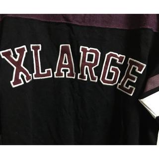 エクストララージ(XLARGE)のX-LARGEラガーシャツデザインロンT  エクストララージTシャツ(Tシャツ/カットソー(七分/長袖))