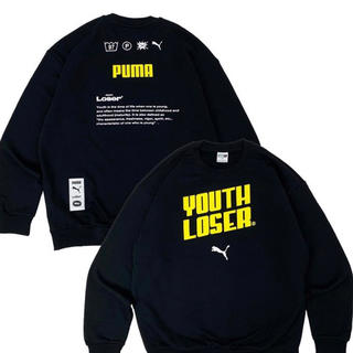 STUSSY - youth loser × puma トレーナー