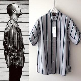 Jil Sander - 【名作】OAMC ルーク着用 ストライプ パルス シャツ ブラウス 半袖
