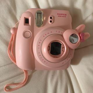富士フイルム - チェキ本体 instax mini8 富士フィルム チェキ ピンク カメラ