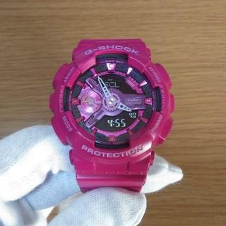 ジーショック(G-SHOCK)のカシオ CASIO G-SHOCK GMA-S110MP 腕時計 ピンク(腕時計(デジタル))