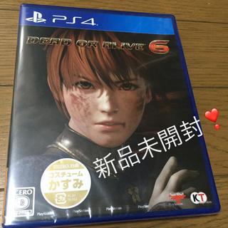 Koei Tecmo Games - 新品未開封❣️DEAD OR ALIVE 6 通常版 PS4