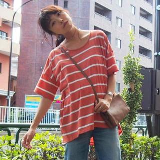 アングリッド(Ungrid)のungrid   カラーボーダーハーフスリーブTee (Tシャツ(半袖/袖なし))