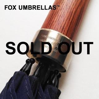 ハンター(HUNTER)の新品 FOX UMBRELLAS✨フォックス アンブレラ 長傘 ネイビー 8本骨(傘)