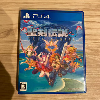 PlayStation4 - PS4 聖剣伝説3 トライアルズ オブ マナ
