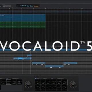 Vocaloid5 Editor Standard(DAWソフトウェア)
