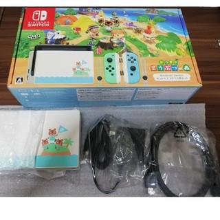 Nintendo Switch - あつまれどうぶつの森 特別デザインドック