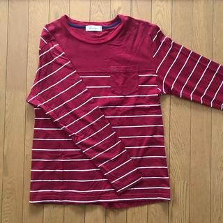 アバクロンビーアンドフィッチ(Abercrombie&Fitch)の新同 ゴールデンベア ロンT ボーダー(Tシャツ/カットソー(七分/長袖))