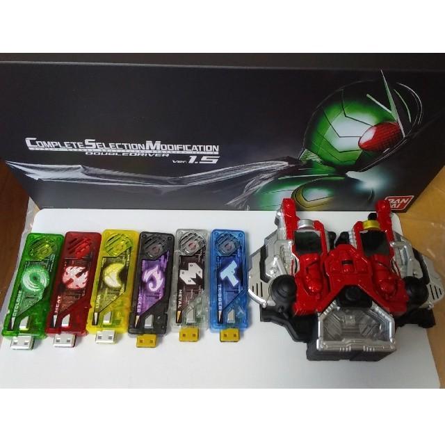 BANDAI(バンダイ)のCSM ダブルドライバーver1.5  二次 エンタメ/ホビーのフィギュア(特撮)の商品写真