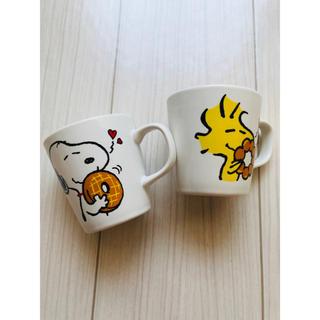 スヌーピー(SNOOPY)のPEANUTS スヌーピーペアマグカップ ミスド(グラス/カップ)
