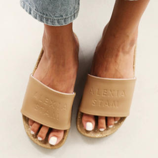 ALEXIA STAM - ALEXIA STAM  Hand Painted Slide Sandals