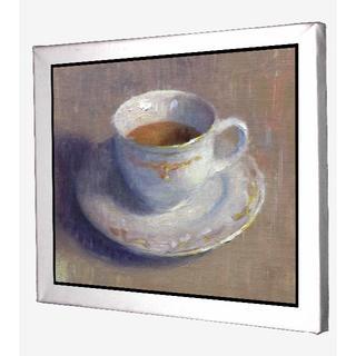 12-アートシリーズ 油絵風 coffee コーヒー キャンバスアート 模写(ボードキャンバス)