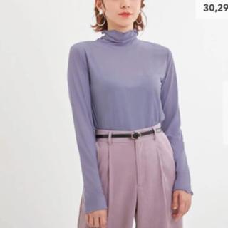 ジーユー(GU)の新品未使用・XLサイズGUシアーインナーT(Tシャツ(長袖/七分))