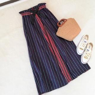 SCOT CLUB - 定価15800円 新品 スコットクラブ 日本製ストライプロングスカート