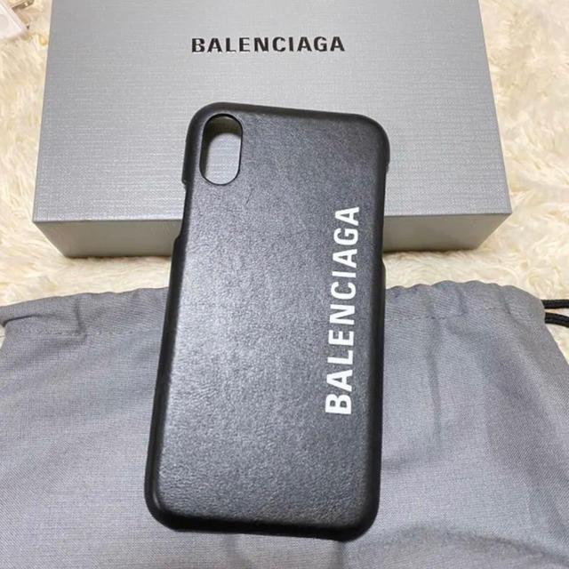Balenciaga(バレンシアガ)のバレンシアガ iPhoneケース BALENCIAGA スマホ/家電/カメラのスマホアクセサリー(iPhoneケース)の商品写真