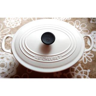 ルクルーゼ(LE CREUSET)のル・クルーゼ オーバル 25cm(鍋/フライパン)